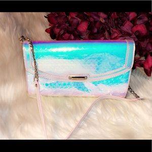 NINE WEST Holographic Shoulder Bag/Clutch